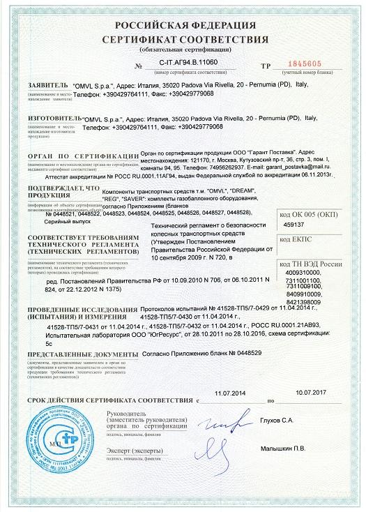 Сертификация установка гбо вакансии сертификация хранилищ банко